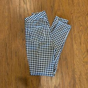 2/$30 Gingham Skinny Dress Pants